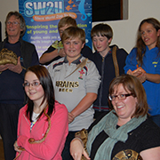 Llysyfran Young Farmers with guests from Letterston YFC